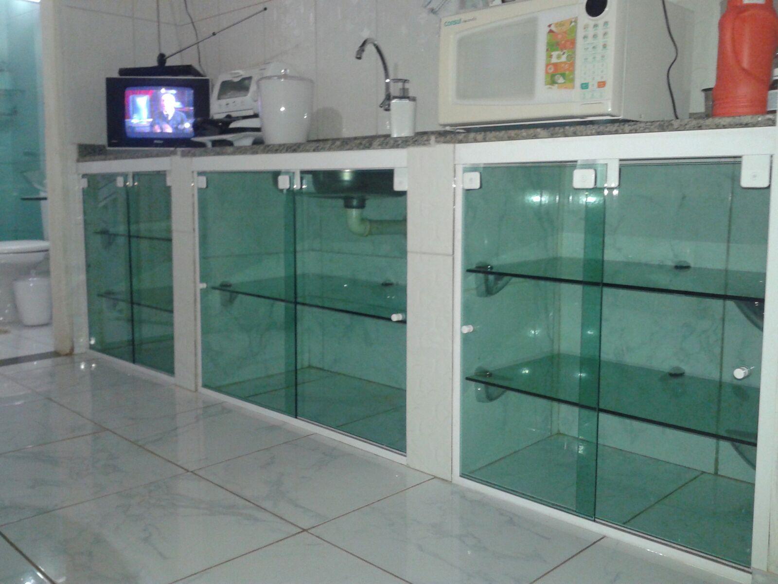 #934238 Armário De Pia Vidro Temperado Pictures to pin on Pinterest 276 Janelas De Vidro Rio Branco Acre